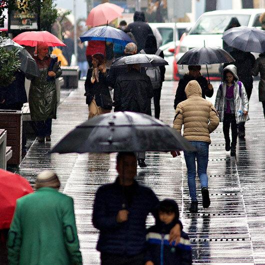 Meteoroloji son hava durumu tahminlerini açıkladı: 41 ile yağış uyarısı yapıldı