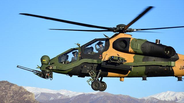Turkey's ATAK aircraft