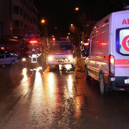 Amasya'da AVM'de yangın çıktı: 2 ölü 4 yaralı