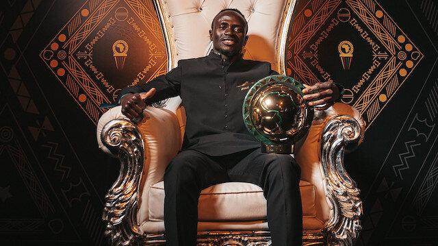 Sadio Mane Afrika'da yılın futbolcusu seçildi