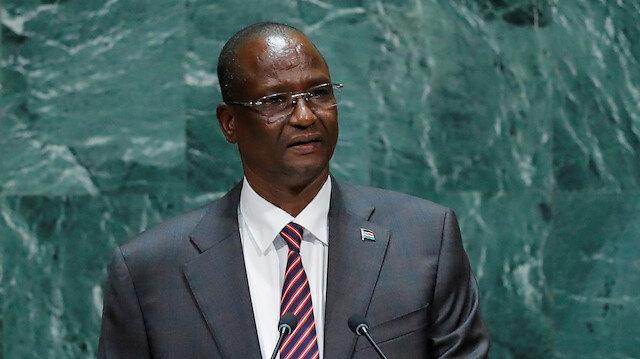 Vice President of South Sudan Taban Deng Gai