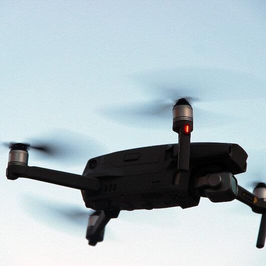 Orman yangınlarında önlem: 5 kilometrekarelik alana LED ışıkları yayabilen drone satın alındı