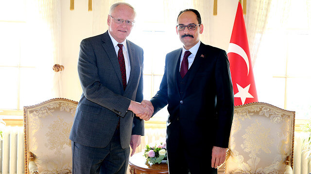 US Special Representative for Syria, James Jeffrey in Istanbul.