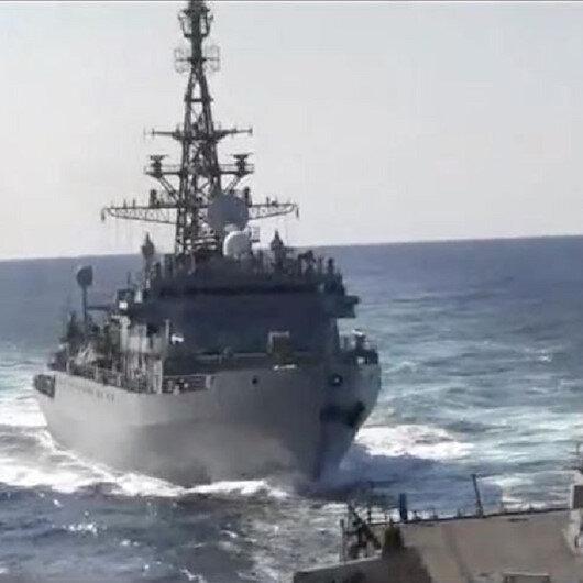البحرية الأمريكية: سفينة حربية روسية كادت تصطدم بمدمرة لنا