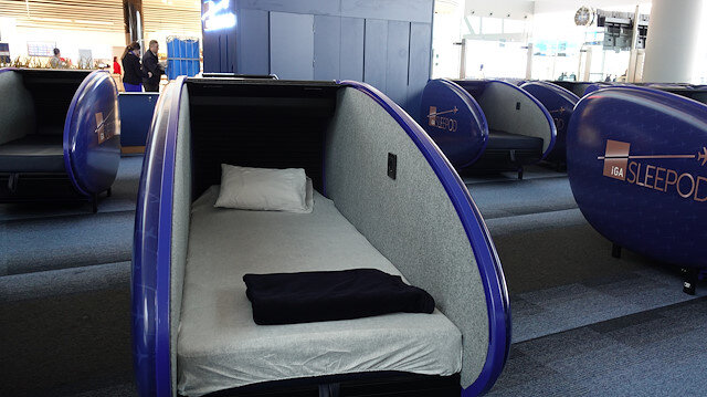 جديد مطار اسطنبول.. كبائن نوم لخدمة المسافرين