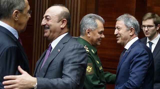 بدء الاجتماع الوزاري التركي الروسي لبحث الملف الليبي