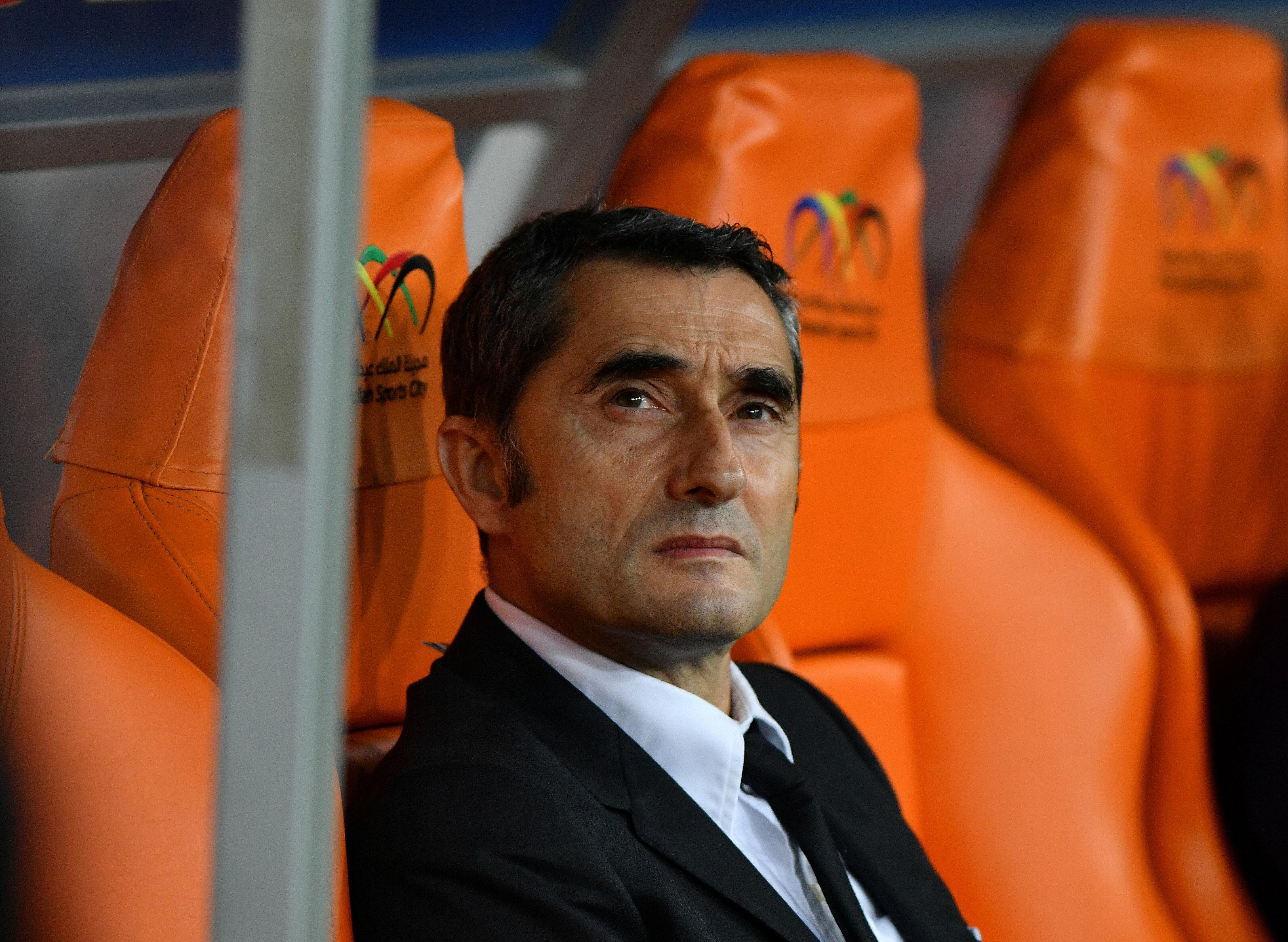 Katalan kulübü, Valverde için teşekkür mesajı yayınladı.