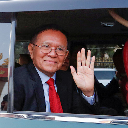 Cambodian opposition leader stands trial for 'treason'