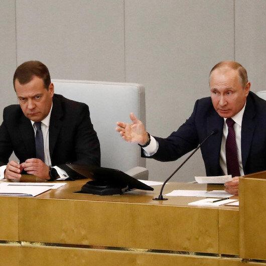 Rusya'da hükümet istifa etti: Yerine yeni hükümet kurulacak