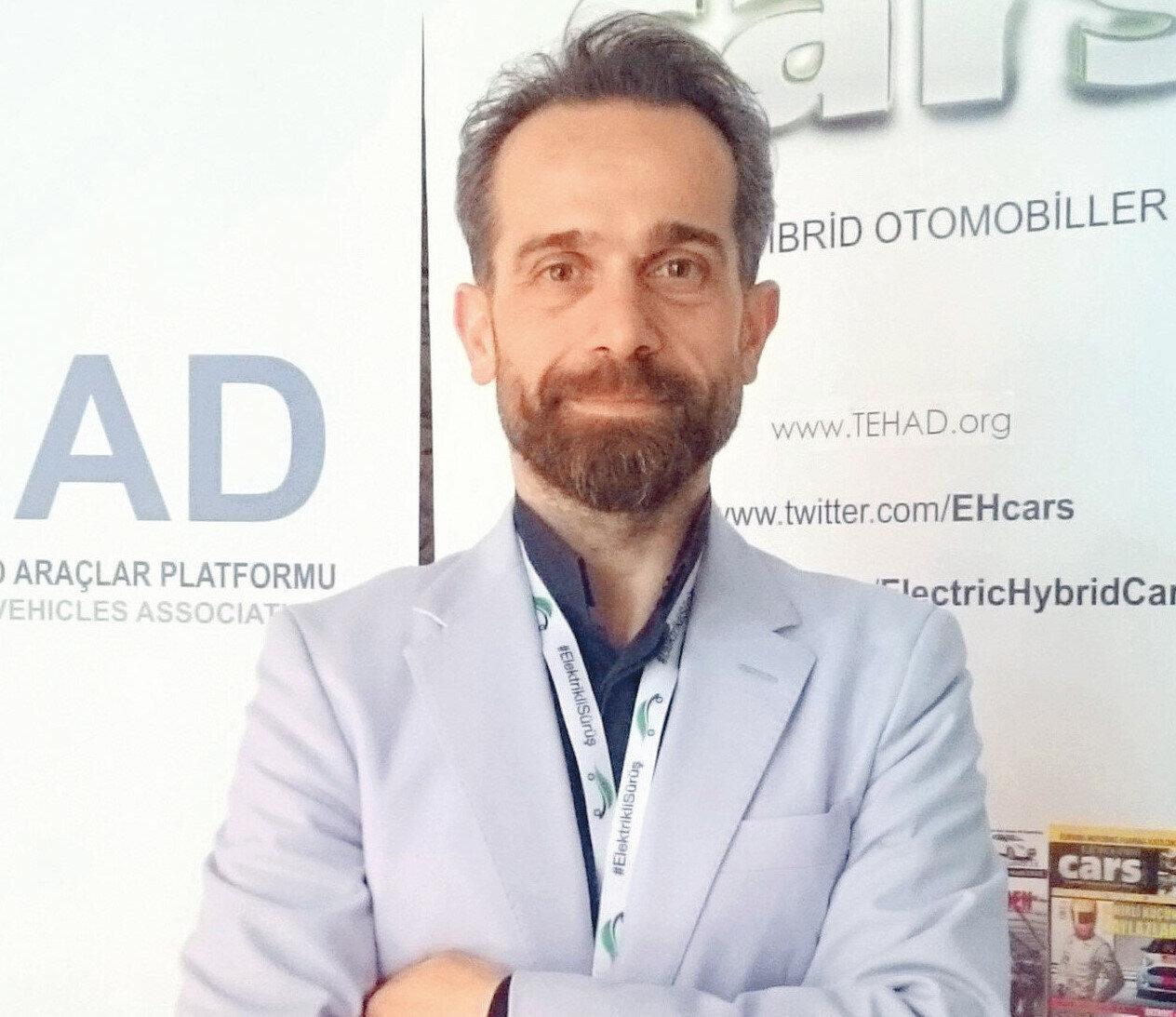 Türkiye Elektrikli ve Hibrid Araçlar Derneği (TEHAD) Başkanı Berkan Bayram