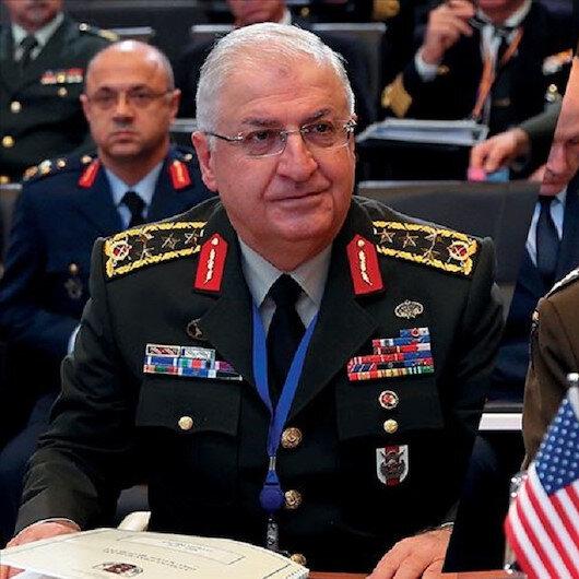 رئيس الأركان التركي ونظيره الأمريكي يبحثان الأوضاع الأمنية بسوريا