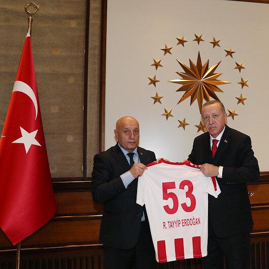 Turkish president receives Armenian Patriarch