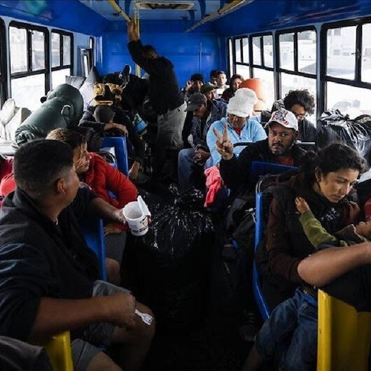 New migrant caravan leaves Honduras headed to US