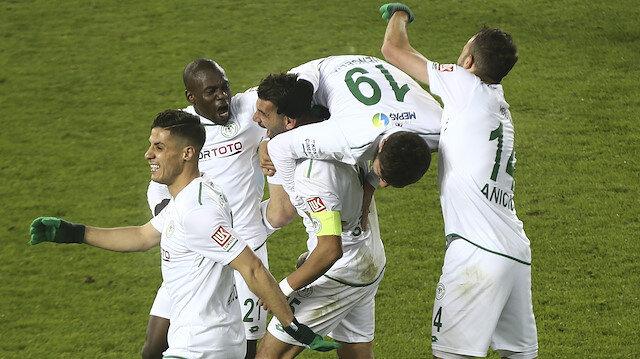 Ankaragücü-Konyaspor: 0-1
