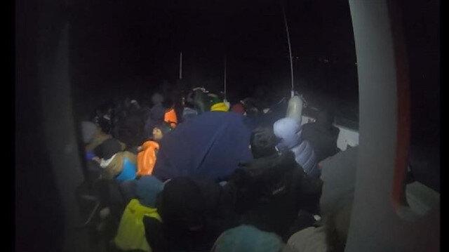 خفر السواحل التركي يضبط 70 مهاجرا قبالة