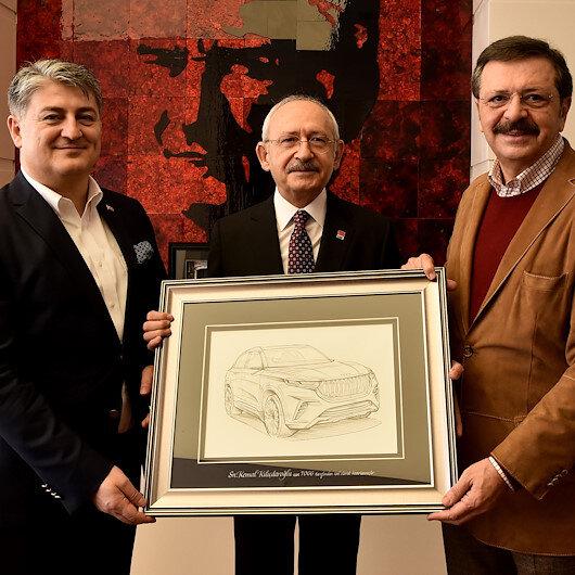 CHP Genel Başkanı Kılıçdaroğlu, TOGG heyetini kabul etti