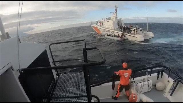 """إنقاذ 22 مهاجرًا من الغرق قبالة """"أدرنة"""" التركية"""