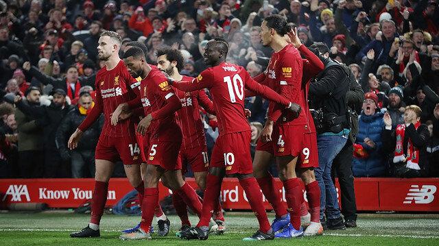 Liverpool yenilmiyor