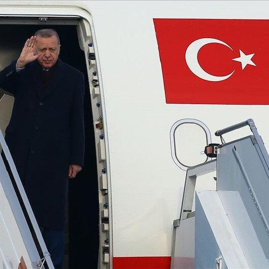 أردوغان يغادر إلى ألمانيا للمشاركة بمؤتمر برلين حول ليبيا