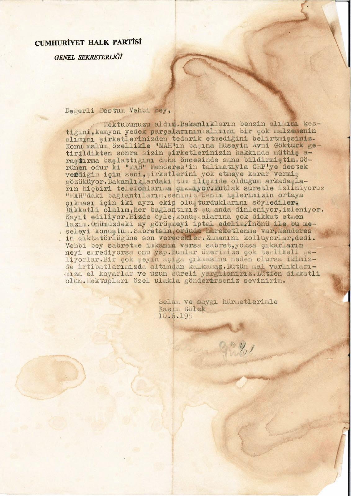 İşte o arşiv belgesi