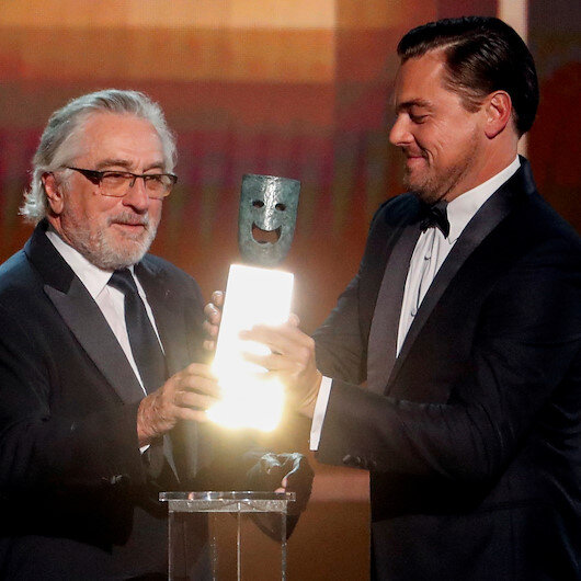 De Niro takes shot at Trump as he accepts SAG lifetime award