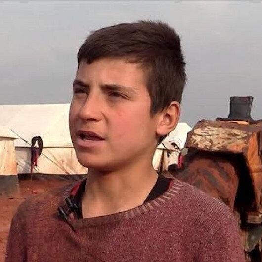 """""""Çamur kamplarda"""" yaşayan küçük İsmail: Kahverengiden nefret ediyorum"""
