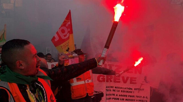 French union shuts power plant in latest protest action