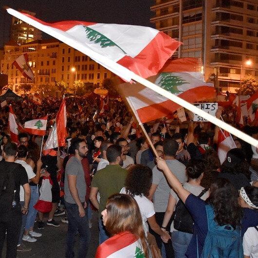 Lübnan'da göstericilerle güvenlik güçleri arasında arbede yaşandı