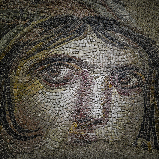 Record number of tourists visit Turkish mosaic museum