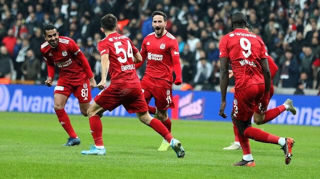 Sivasspor Avrupa'da zirvede