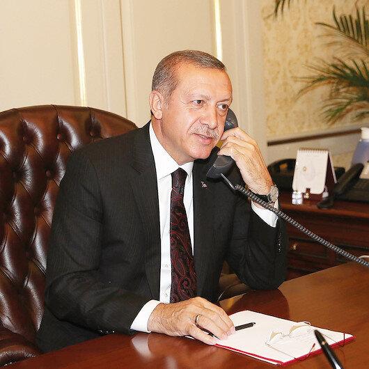 Cumhurbaşkanı Erdoğan Kanada Başbakanı ile telefon görüşmesi yaptı
