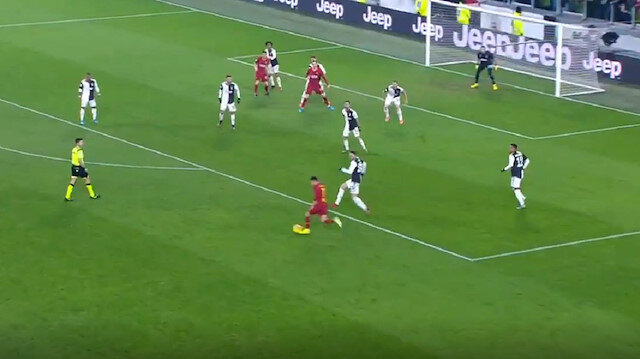 Cengiz Ünder'den Buffon'a muhteşem gol: Müdahale edemedi
