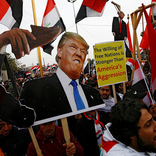 Thousands converge for anti-US rally in Iraq