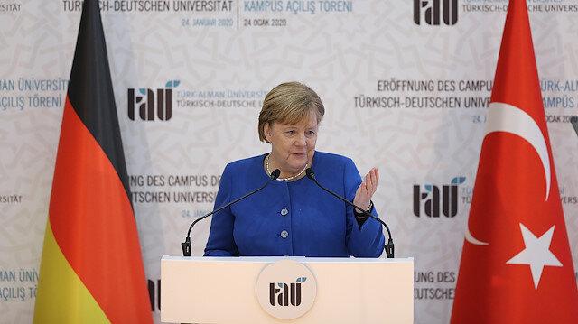 ميركل: الجامعة التركية - الألمانية هي أنموذج استثنائي للتعاون بين البلدين
