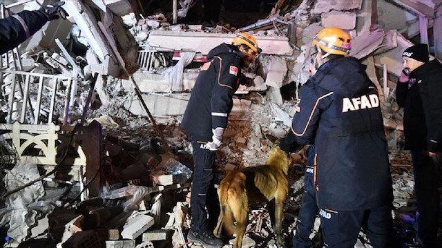 رسائل تعزية وتضامن مع تركيا في ضحايا زلزال ألازيغ