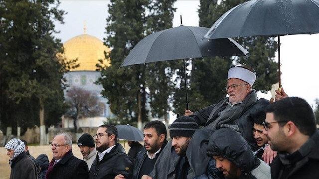 أنقرة تستنكر حظر اسرائيل دخول الشيخ عكرمة صبري إلى الأقصى