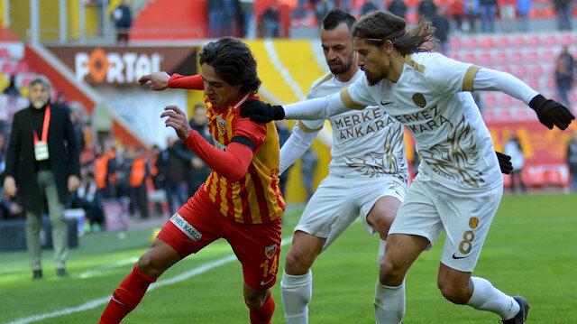 Hes Kablo Kayserispor - MKE Ankaragücü: 1-1