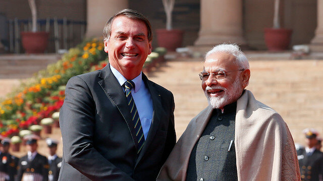 India PM Modi says looking to expand defence sector cooperation with Brazil