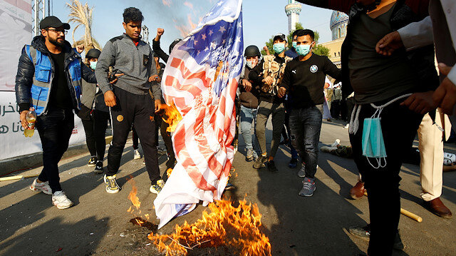 Iraq populist cleric calls for anti-US demonstrations on Sunday
