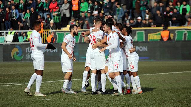 Yukatel Denizlispor - Antalyaspor: 0-3