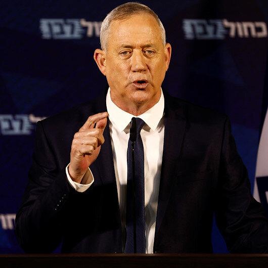 Israel's Gantz, Netanyahu rival, says will meet Trump on peace plan