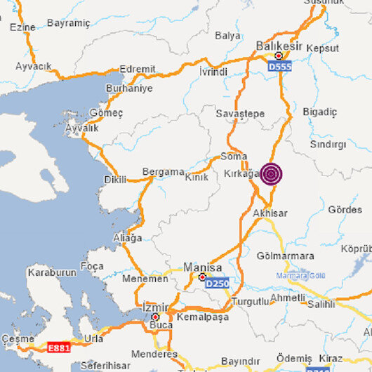 Manisa'da 4.8 büyüklüğünde deprem oldu