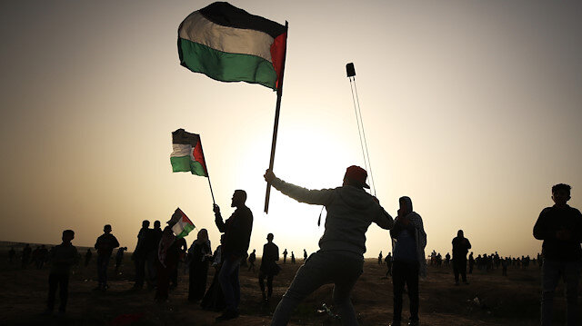 'Great March of Return' demonstrations in Gaza