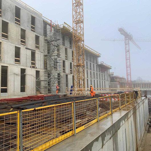 Türk inşaat şirketinin projesi Avrupa'ya örnek oldu