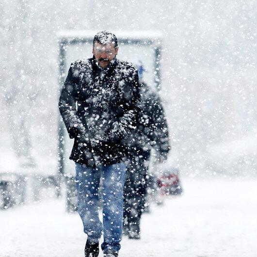Meteorolojiden bazı illere yoğun kar yağışı uyarısı