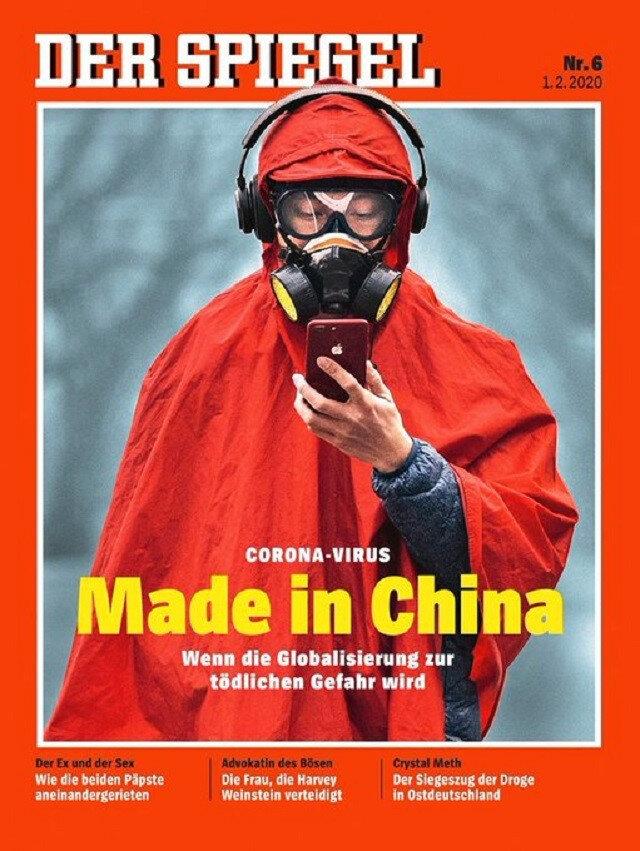 Alman dergisi Der Spiegel'den Çin'i kızdıran kapak