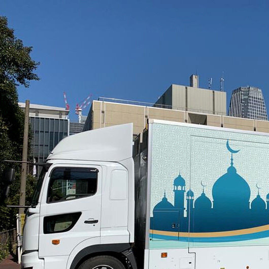 Japan unveils mobile mosque for 2020 Tokyo Olympics