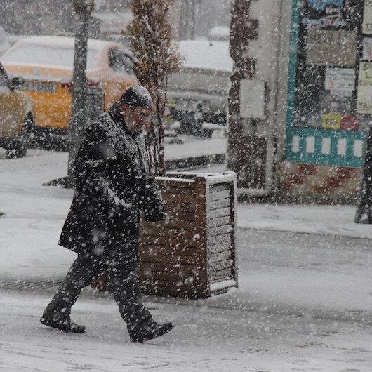 Valilikten 7 il için kar uyarısı: Kar kalınlığı 20 ile 50 santimi bulacak