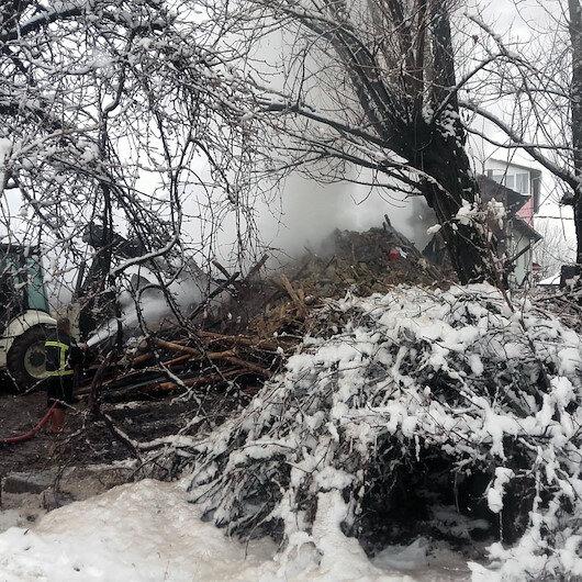 3 kardeş uyurken evde çıkan yangında öldü