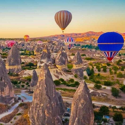 كبادوكيا التركية تستقبل 160 ألف سائح أجنبي في يناير